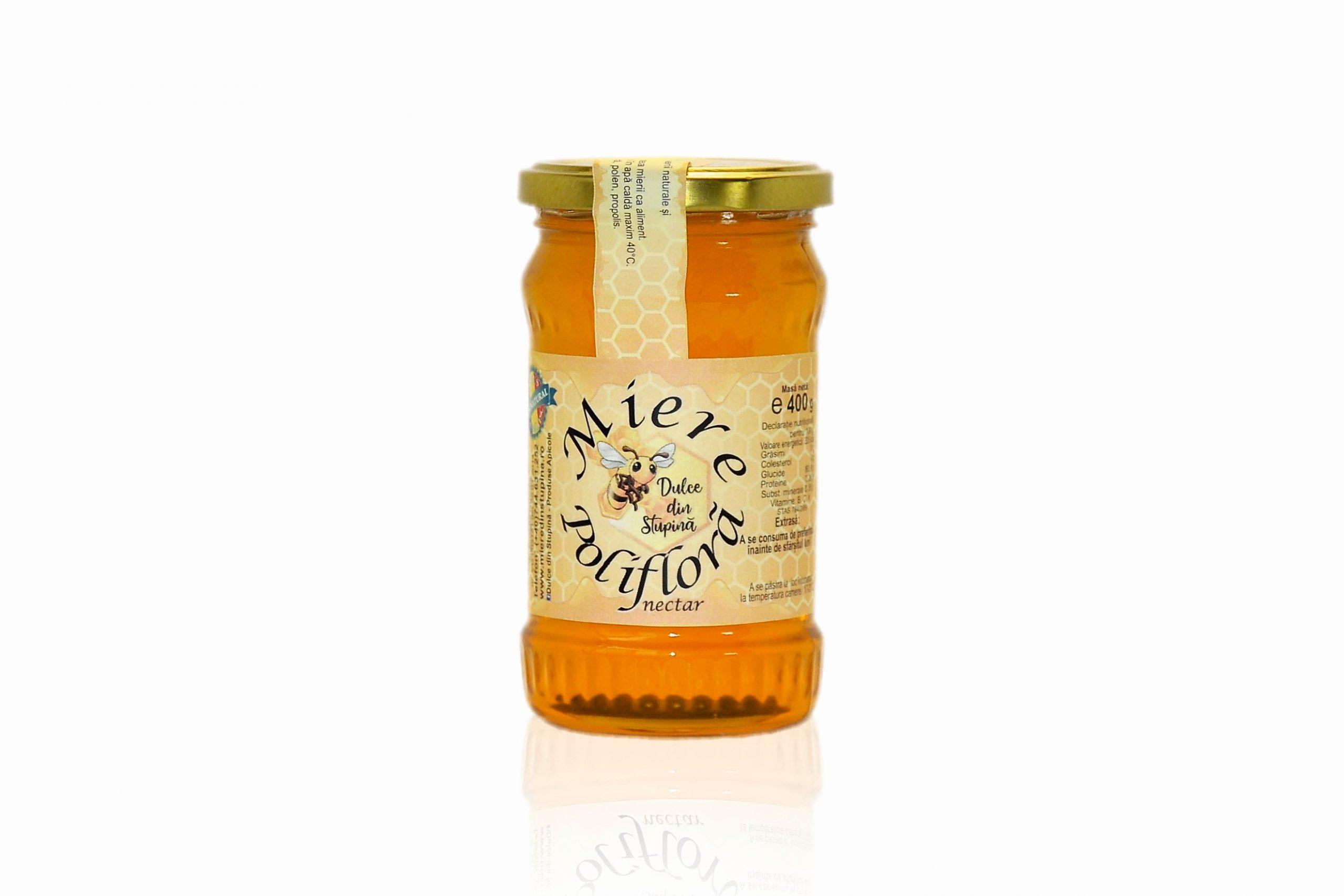 Miere polifloră 0,4 kg
